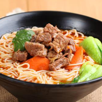 Soy Juice Beef Noodle